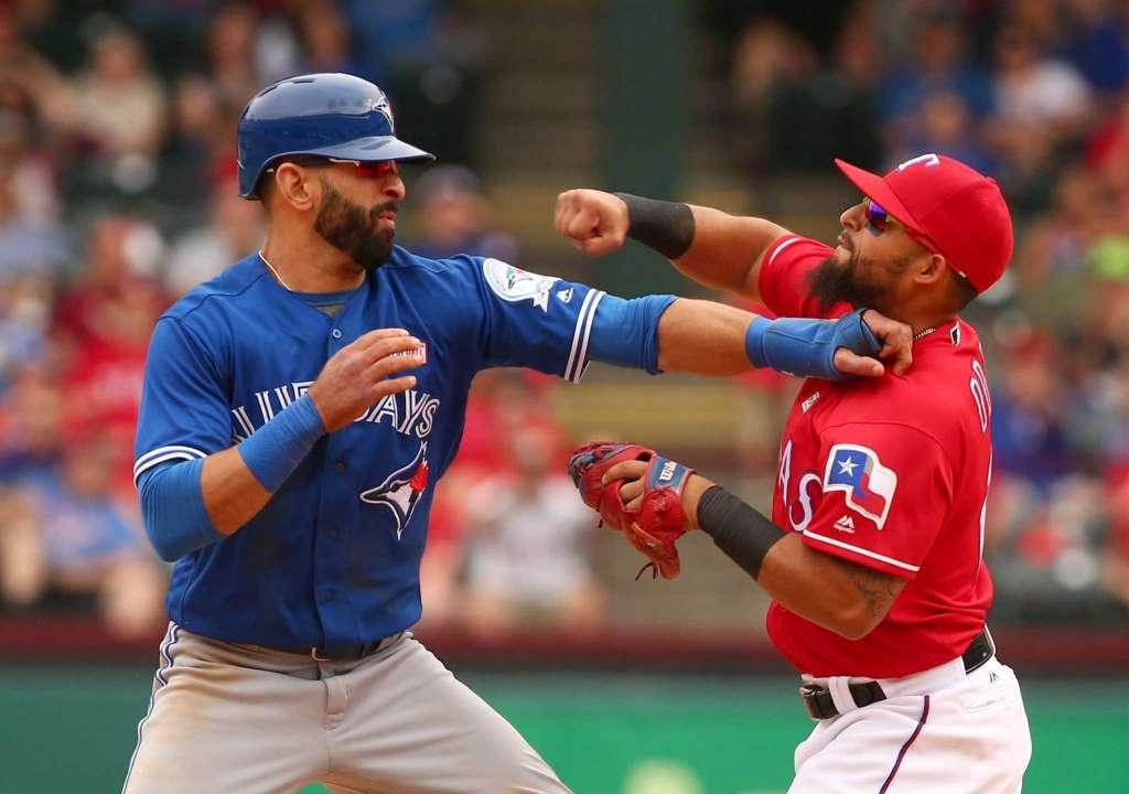 MLB Playoffs – Rangers vs. BlueJays